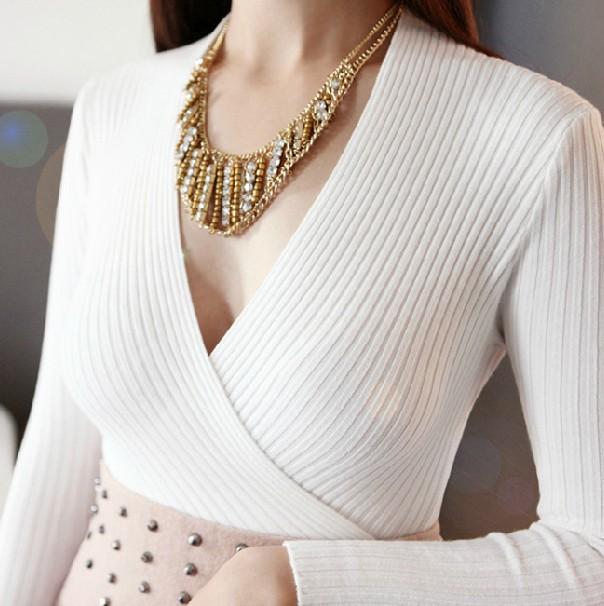 Женский пуловер Casual dress v/4 8046