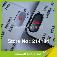 PC+ aluminum for iphone 5 5s sublimation case