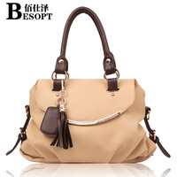 2014 female bags fashion tassel shoulder bag cross-body women's handbag