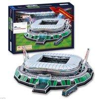 New Arrive 3D Puzzle Model Stadio Juventus Arena Stadium FC Football Club Home Souvenir