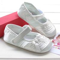Silk princess baby toddler shoes film js007  6pairs/lot free shipping