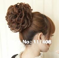 Synthetic Hair bun Chignon New Fashion Hairpiece Black / Dark Brown / Light Brown