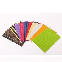 16SHEETS (1632 stickers)/Lot,16 color PVC photo corner stickers,DIY photo album accessories,Creative supplies,DIY crafts