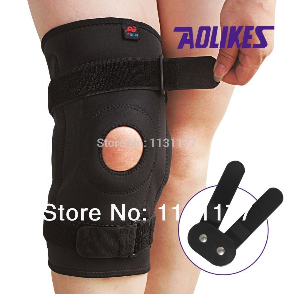 AOLIKES NO.616 size:M Neoprene sports knee supports knee brace knee protector knee pad for basketball football baseball(China (Mainland))