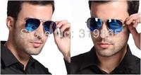 sunglasses Unisex UV protection optical Aviator sun glasses men women supper star lenses  high quality low price