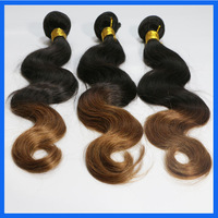 New Star Hair Cheap Price 3pcs lot Body Wae Ombre Color Brazilian Virgin Remy Human Hair Extensions
