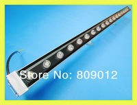 LED wall washer 18W high power LED wall washer light lamp staining light LED bar light AC85-265V  W / WW / R / Y / B / G / RGB