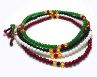 Fashion beads beaded bracelet crystal accessories glass paint 11.5g