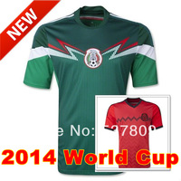 Mexico Soccer Jersey, 2014 World Cup Mexico Home Football Kit, Shirt/Ropa Deportiva/Camisetas de Futbol, Best Thai Quality