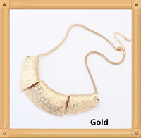 Wholesale Free Shipping 2014 New Arrived Europe Fashion wild personality choker chunky statement necklace Women Costume jewelry