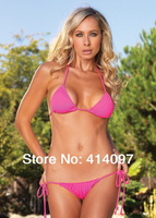 Freeshipping 2014 Sexy Without PAD Halter Bikini Hot Swimsuits Ladies Swimwear Beachwear