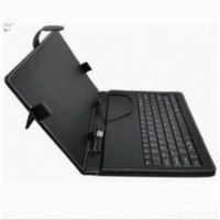 "Free Shipping Leather Case USB Russian Keyboard for 7"" 8"" 9"" 9.7"" 10.1"" Tablet PC +style capacitive pen + Two OTG cables"