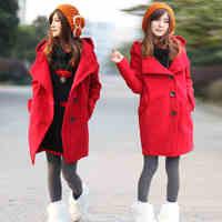 Yanerwo woolen outerwear female wool coat autumn and winter women wool coat large lapel plus size suit