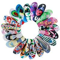 2014 NEW Factory Lovers sandals summer flat slippers flip flops beach slipper flip-flop slippers male women's slippers