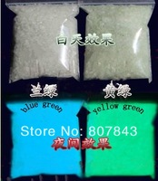 Free shipping  10KG Premium Luminous GLOW IN THE DARK grain of sand Noctilucent sand