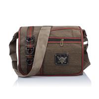 Free shipping  Canvas bags men Messenger shoulder bag  32*26cm