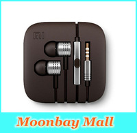 op Quality 100% New XIAOMI Piston Earphone Headphone Headset White,Gold with Mic for MI2 MI2S MI2A Mi1S Phones Free Shipping