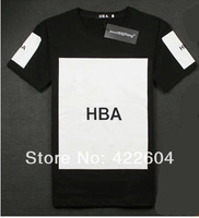 High quality! 2014 NEW Print Graphic Tee T Shirt Pyrex Supreme Men Hood By Air HBA X been trill kanye west Chen New Kanye Style