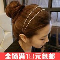 Free shipping Dream hairbands Double row rhinestone headband Women hair accessoryies High quality head wrap Popular hair jewelry