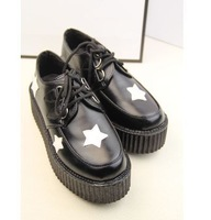 2014 Women's Vintage Casual Cute Trifle Shoes Shallow Student Star Sneakers (Size 35-39) 5502