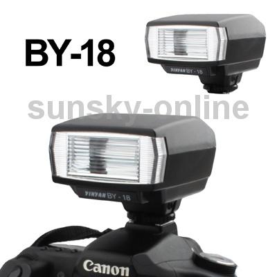 Universal Hot Shoe DSLR/SLR Camera Electronic Flash with PC Sync Port for Canon / Nikon(China (Mainland))
