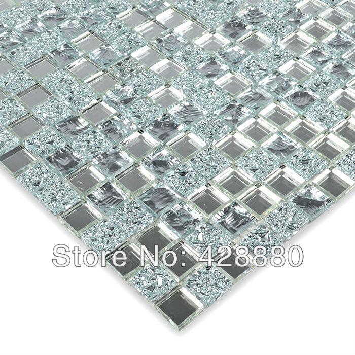 Online Get Cheap Mirror Tile Backsplash Aliexpresscom - mirror tiles with wall designs