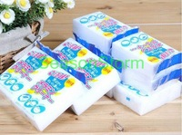Wholesale 10cmX6cmX1.3cm White Kitchen Magic Cleaning Sponge Eraser WITHOUT PACKAGE (SX-91)