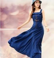 fashion women 2014 clothes maxi floor-length casual dress summer spring dress vestidos Bohemian Dresses plus size beach dress