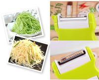 The new creative two-way flip multifunctional fruit peel kitchen shred peeler machine portable planer type free shipping 146