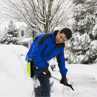 Free Shipping Retractable Long Ice Scraper Snow Brush Shovel ABS Auto Vehicle Car Ice Snow Frost Remover Clean Tool