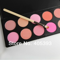 Hot 10 Colors Blusher Makeup Cosmetic Blush Powder blush Palette Pink Rose Peach Cora makeup blush Free Shipping