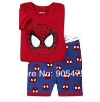 baby pajamas Baby Pyjamas Children Pyjamas Children Sleepwear short sleeves underwear clothing kids clear suits 6sets/lot  #26