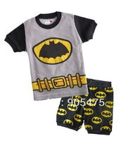 baby pajamas Baby Pyjamas Children Pyjamas Children Sleepwear short sleeves underwear clothing kids clear suits 6sets/lot  #32