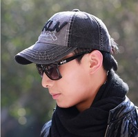 Free shipping 1 pcs 2014 new High-grade fabrics cotton baseball cap Men  letter spring and autumn hats, multicolor