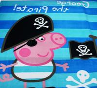 Baby boys girls Cartoon peppa pig Coral Fleece Blanket Children's Sleeping Quilt/Cover Picnic/Travel Blanket Plaid Rug Cover