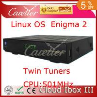 cloudibox3 cloudibpx 3 cloud ibox 3 cloud ibox III  twin tuner satellite receiver 500Mhz Broadcom MIPS CPU DVB-S/S2+T2/C