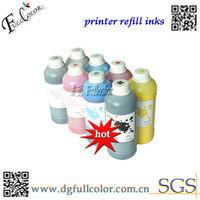 Free shipping 21 litres1000ml Bottle 7 color Dye Ink for Epson Stylus Pro 4000 7600 9600 Printer Ink Crtridge Bulk Refill Inks