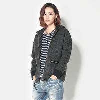 New arrival 1212 fashion woolen baseball uniform casual outerwear female