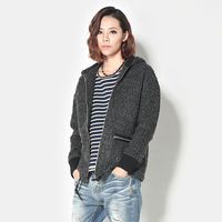 New arrival 1212 fashion woolen baseball uniform casual outerwear female