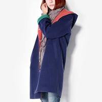 New arrival 1212 fashion women's woolen overcoat medium-long outerwear