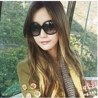 M2 2014 hilton sunglasses star fashion large sunglasses non-mainstream vintage face-lift