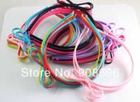 Wholesale 24Pcs New Plastic Bowknot Kids Headbands Children candy Hairwear clip Accessories --Free Shipping