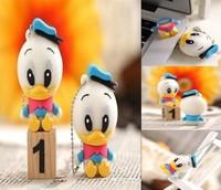 New Cartoon duck model usb 2.0 memory flash stick thumb pen drive 4-32GB free shipping