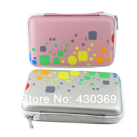 Colorful Leather Bag for Hard Drive Bag Disk/Phone/Camera/Mp5 Portable HDD Mobile Power Box Case OEM