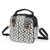 Little Dandelion lace bag 2014 new wave of Korean women wind backpack portable shoulder diagonal handbags