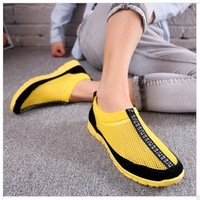 The spring of 2014 the new breathable men's shoes han edition British tide lazy men leisure shoes men net shoes, sandals