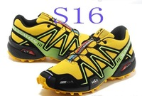 2014 New Arrival 20 colors  Men's Salomon Running Shoes Sneakers outdoor sports  running shoes EUR40-45