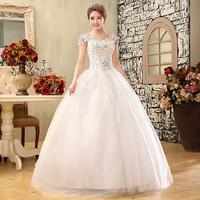 2013 slit neckline luxury princess wedding dress formal dress bride lace vintage winter diamond