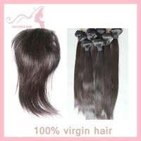 Grade 5A virgin Brazilian hair natural straight 3bundles Weave with 1piece lace closure queen hair GALI Queen Hair
