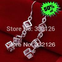 JJE206 Free Shipping 925 sterling silver fashion jewelry earring 925 sterling silver earrings wholesale bmya kefa svoa